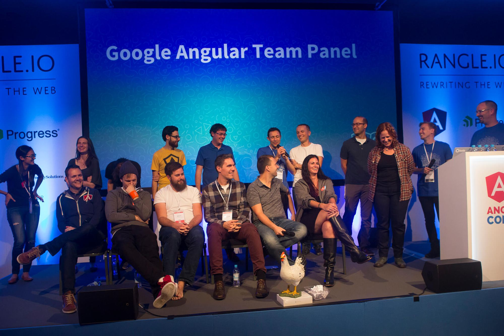 Google angular team panel