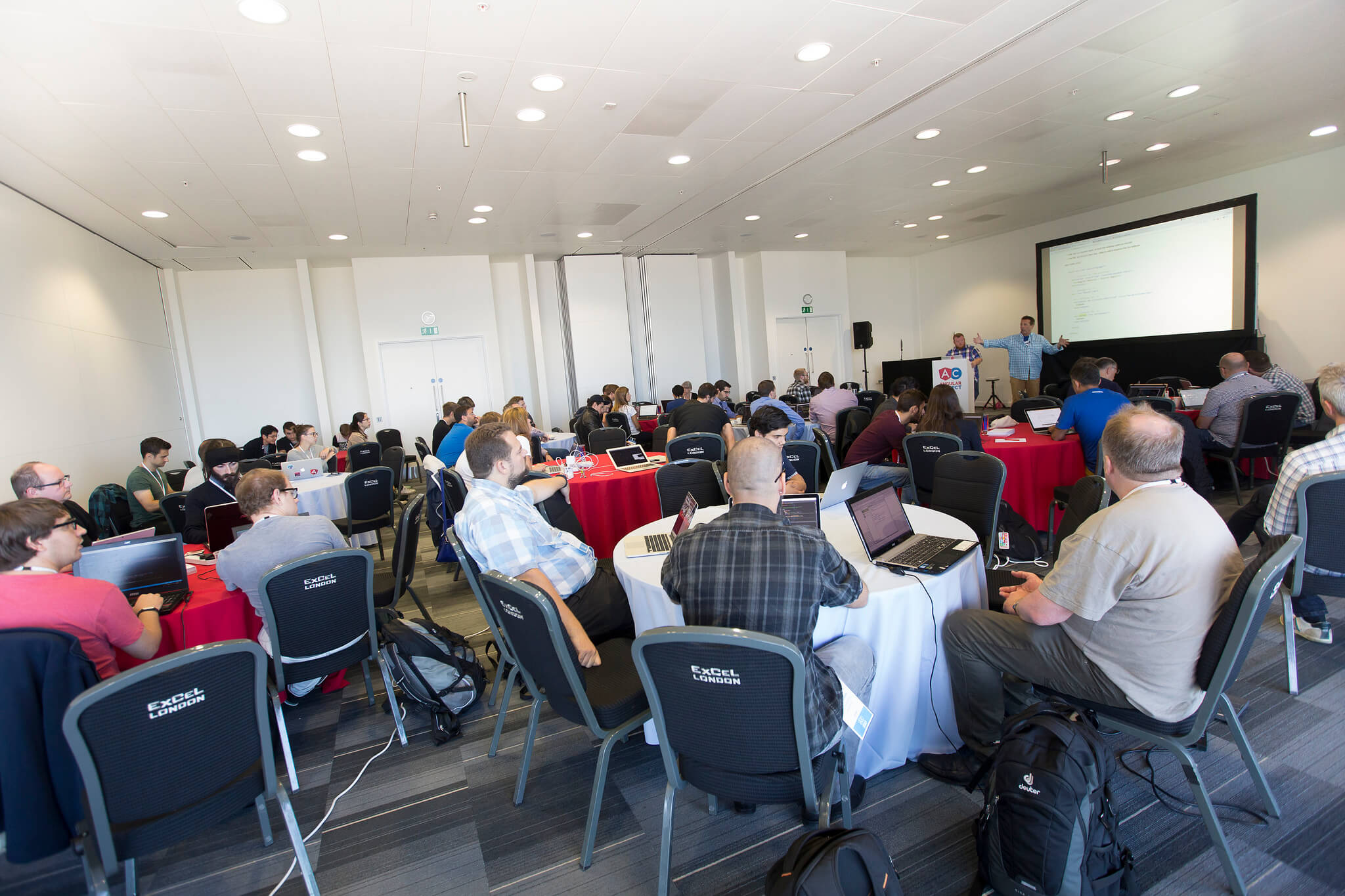 Attendences on Angular Conference