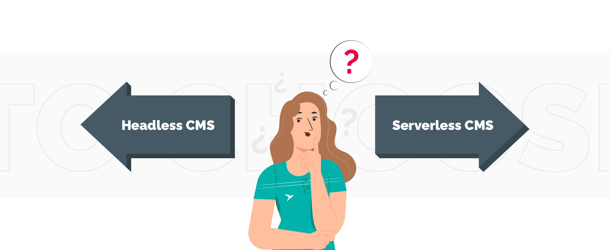 how to choose between serverless CMS and headless CMS