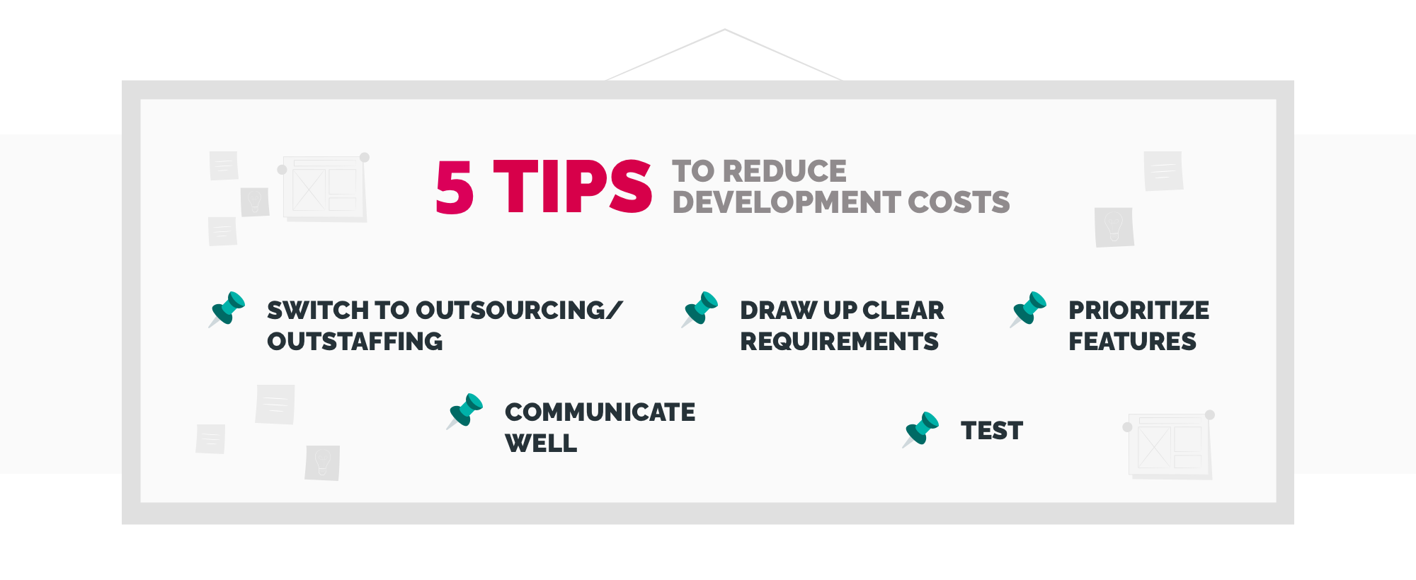 how to reduce software development costs